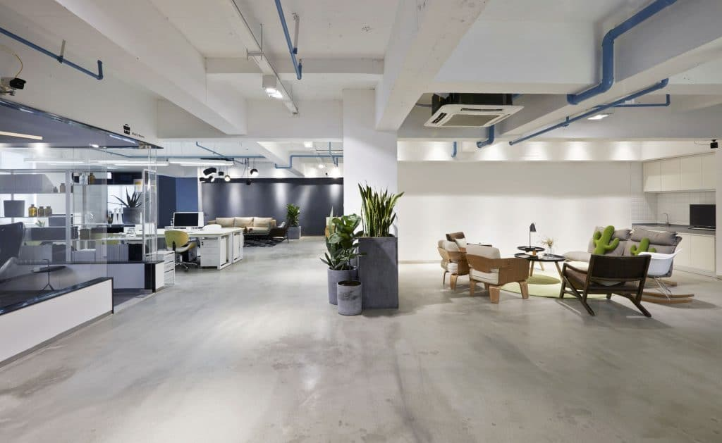Commercial Office Reconfigurations