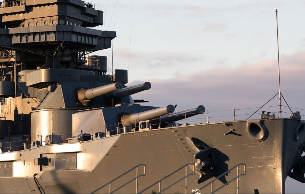 Case Study: Battleship Relocation
